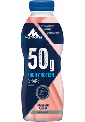 Picture of High protein shake 50g - 500ml Capsuni