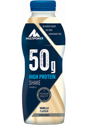 Picture of High protein shake 50g - 500ml Vanilie