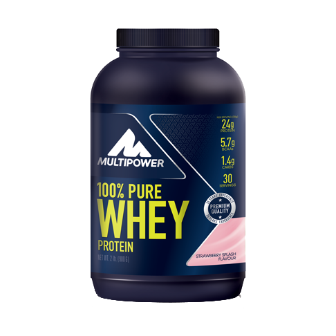 Picture of 100% Pure Whey Protein - 900g Strawberry