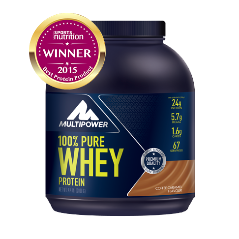 Picture of 100% Proteina Pura Whey - 2000g - Cafea