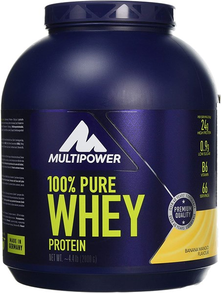 Picture of 100% Proteina Pura Whey - 2000g - Banana Mango