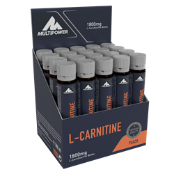Picture of L-Carnitina Lichida 20x25ml (100% ™Carnipure) -Peach